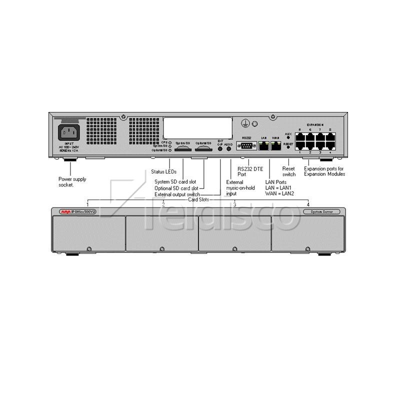 Avaya IPO 500 v2 Control Unit (700476005)